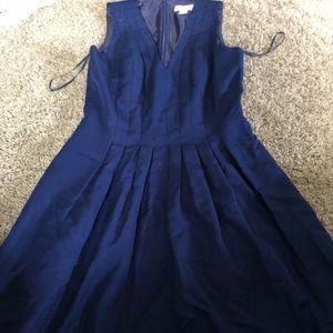 J. Crew Navy Blue Dress